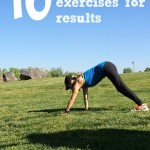 10 Strength Exercises you can do anywhere