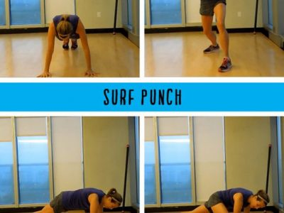 Workout moves for core stability and more upper body strength without weights