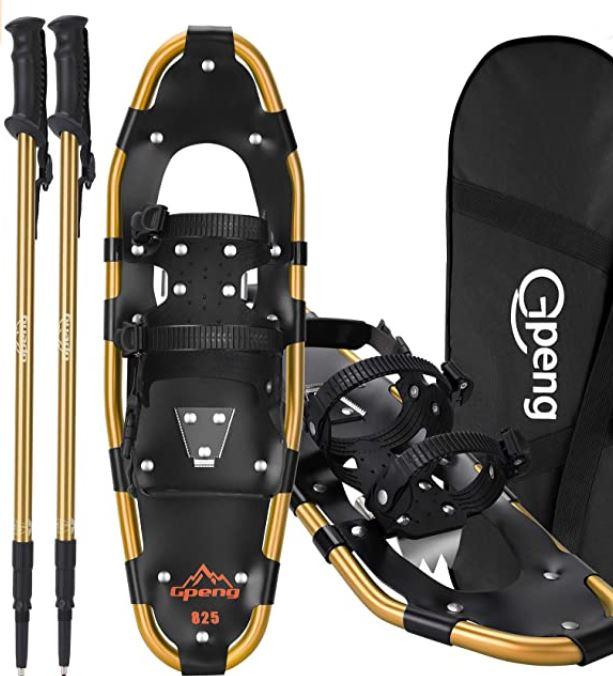 beginner snowshoes Raquetas de nieve para principiantes - RunToTheFinish