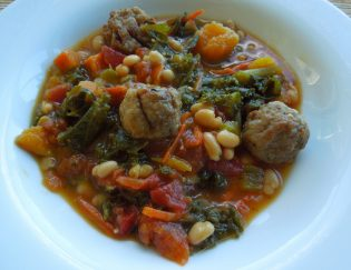 Kale and Butternut Squash Soup - Gluten Free dinner recipe