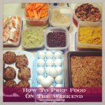 Weekend food prep to save your sanity and your diet