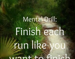 Fast Finish on Every Run: Accountability Monday