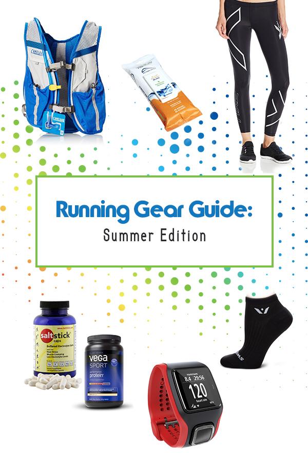 Must Have Running Gear for Summer Running