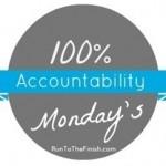 A Good Run, A Good Cry: Accountability Monday