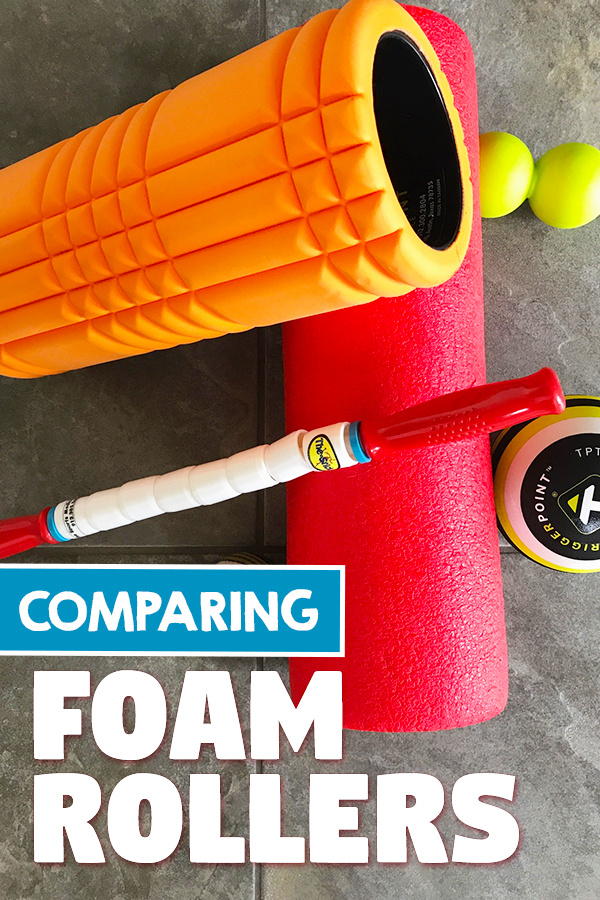 Comparing Foam Rollers - Which one do you actually need