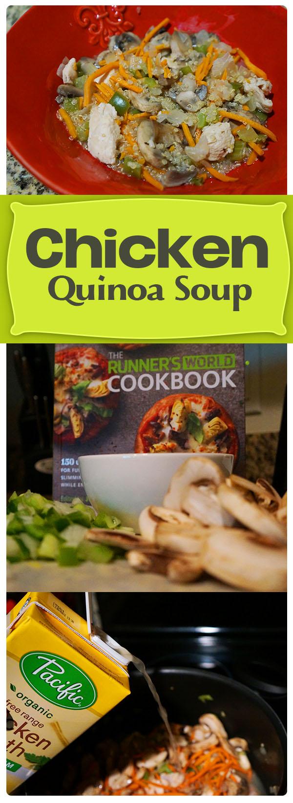 Chicken Quinoa Soup - a gluten free healthy recipe make over of a classic
