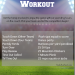 7lb Turkey and a Football Challenge Workout