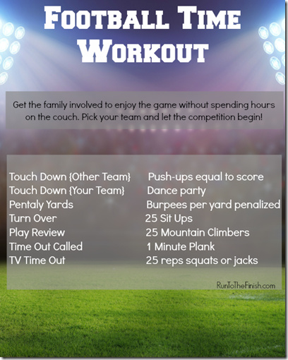 7lb Turkey And A Football Challenge Workout Runtothefinish