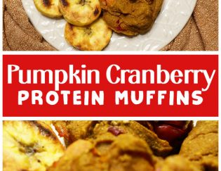 Vanilla Pumpkin Protein Muffins - All the Fall flavors, no added sugar, no dairy, no eggs - vegan recipe