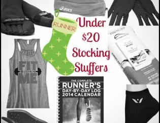 Stocking Stuffers for runners- 10 gifts under $20