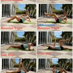 Ab Challenge Exercises Demonstrated