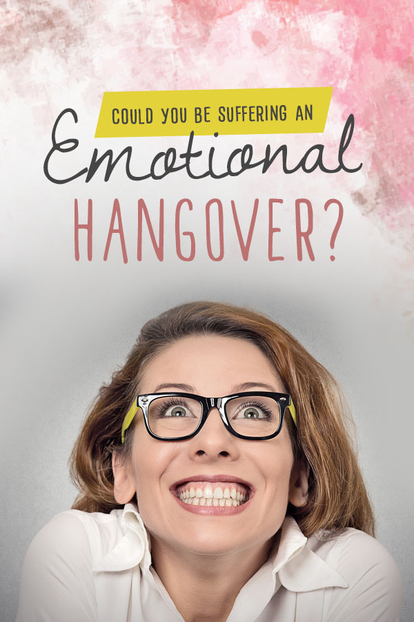 Feeling down after a big event? It's not just you! How to cure an emotional hangover