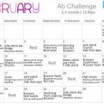 Ab Challenge Calendar