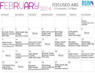 February Ab Challenge
