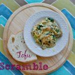 Tofu Breakfast Scramble: A Vegan Protein Veggie Feast