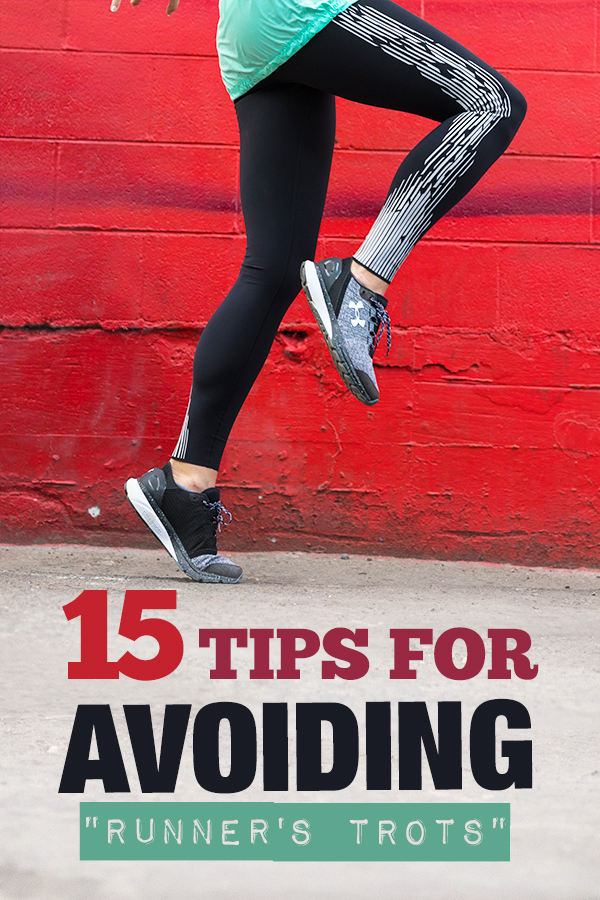 Avoiding Runners Trots - Handling digestive issues caused by running