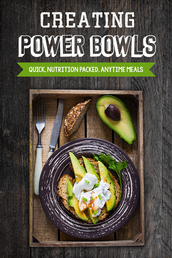 Power Bowl Meal Ideas - Tips, recipes and ideas to make healthy high protein meals easy