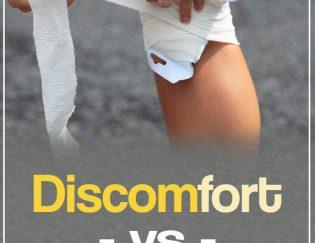 Discomfort vs Pain: The Runner's Dilemma