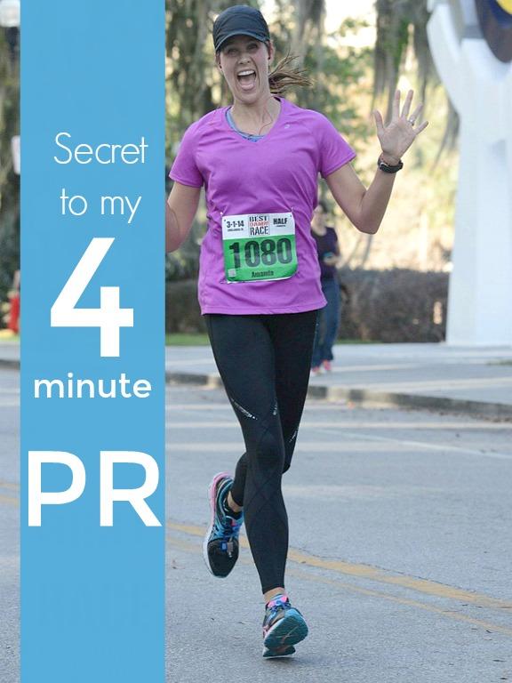 My half marathon PR of over 4 minutes was surprisingly easy