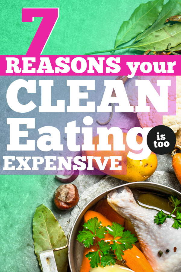 eating clean too expensive