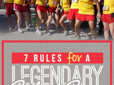 7 Rules for a Legendary Relay Race - what you need to know about your team and planning