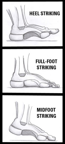 foot strike