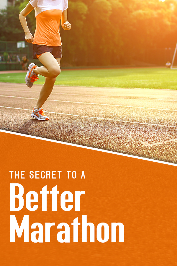 The secret to a better marathon could suprise you!