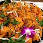 Roasted Sweet potato spinach salad – Runner's World Cookbook