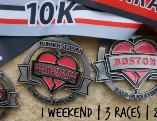 Runner's World Heartbreak Hill Hat Trick Race Recap