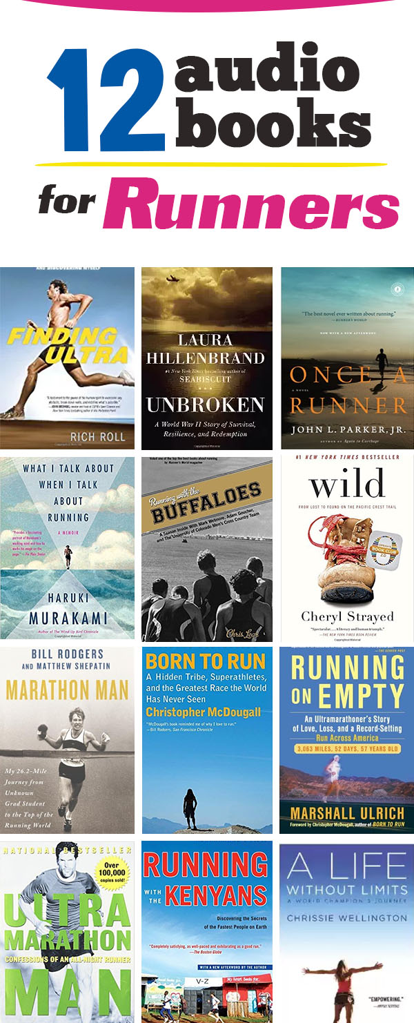 Top running audiobooks