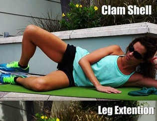 How to prevent knee pain when cycling {runner's knee exercises}