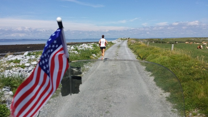 Ireland relay race