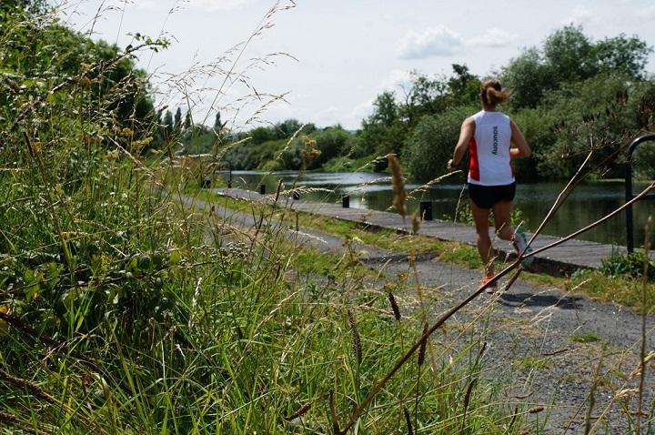 Path along River Barrow Ireland