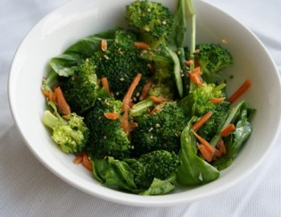 Healthy Tailgating Recipes: Spicy Zucchini and Vegan Broccoli Salad