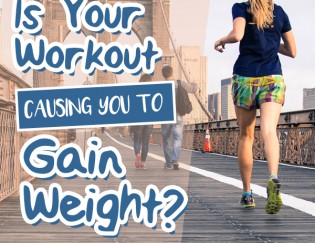 Working Out But Gaining Weight? Surprise You Might Be Doing Too Much!