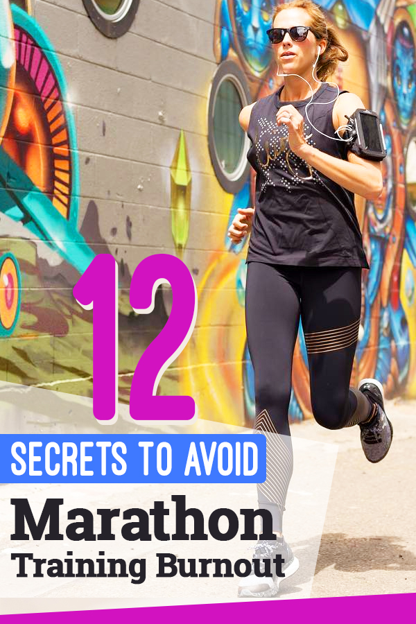 How to avoid marathon training burnout