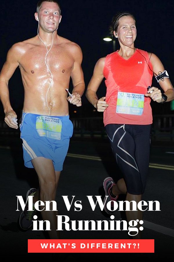 gender differences running