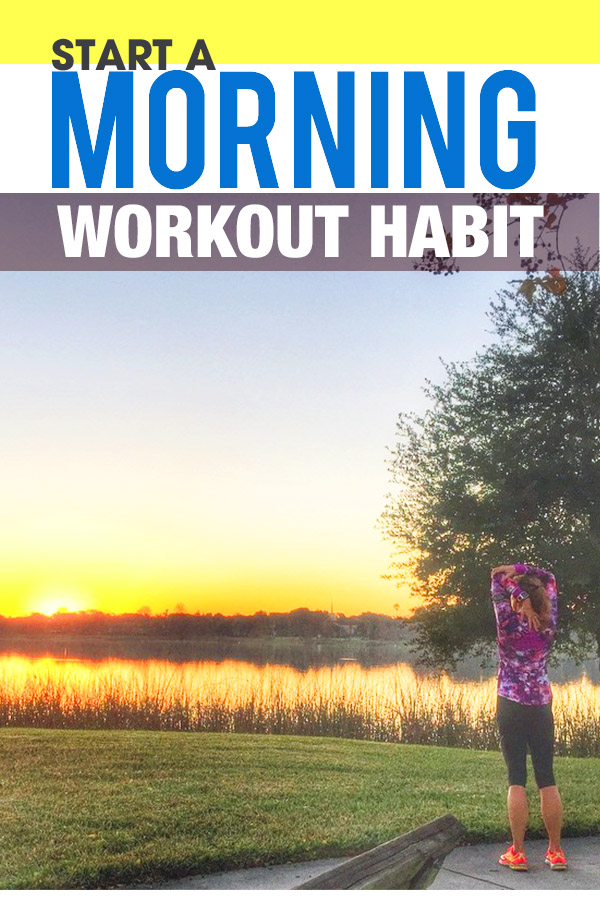 How to become a morning runner or any other workout