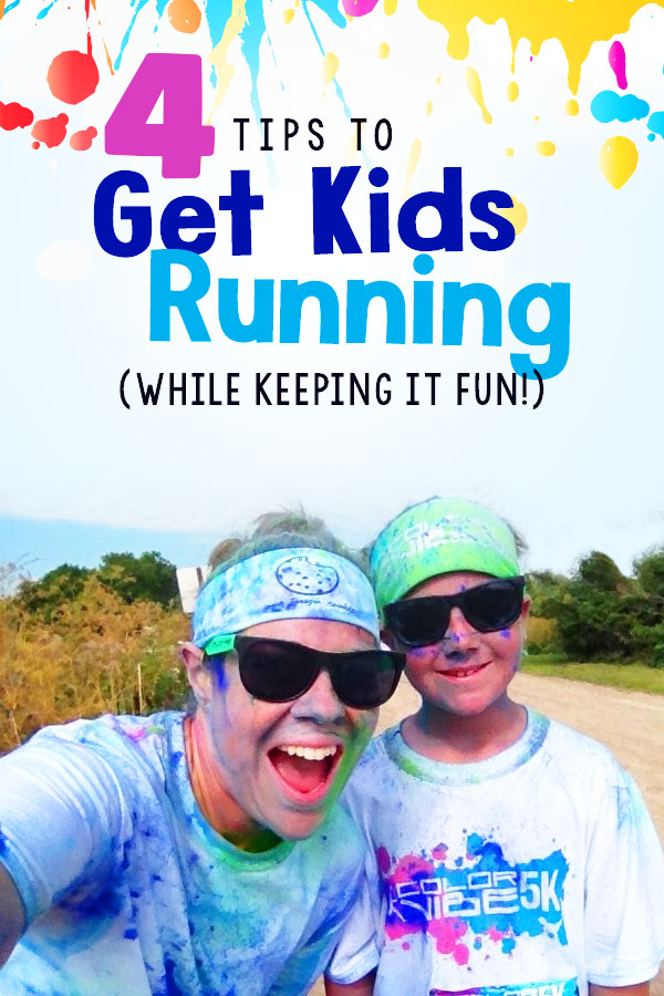 4 tips for how to get your kids in to running