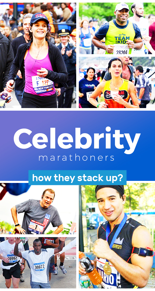 Celebrity marathon finishers - how do celebrity runners stack up and why do we care about Oprahs time so much