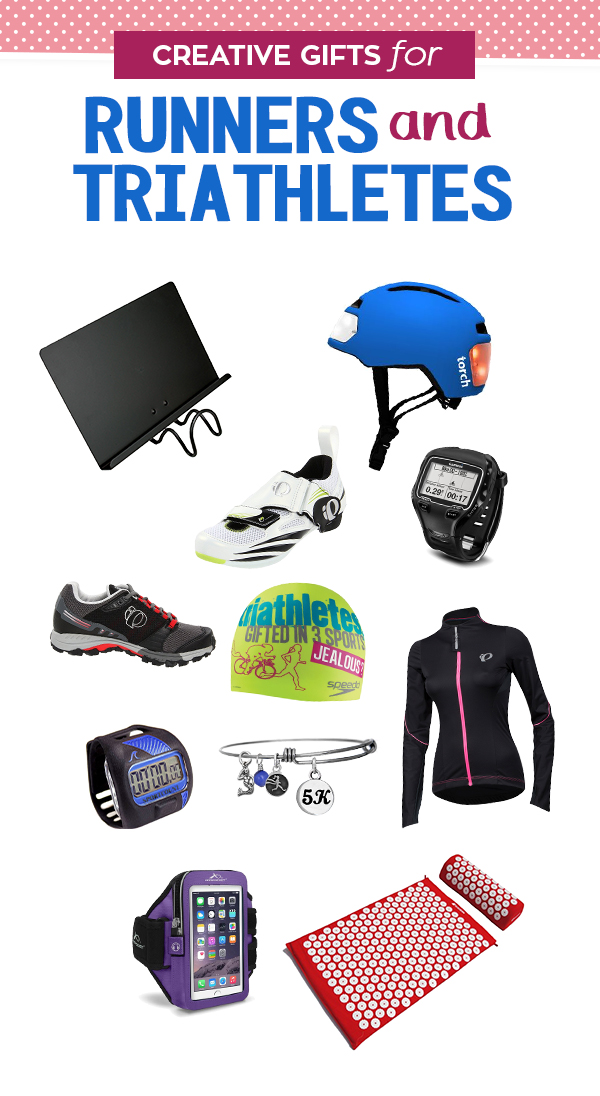 Creative triathlete gifts ideas to get your runner cross training creative gifts for the runner and triathletes negle Choice Image