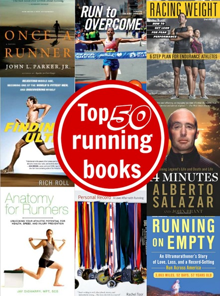 50 best running books of all time motivation training nutrition