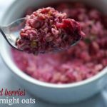 Beets and Berries Overnight Oats – GF, DF, V