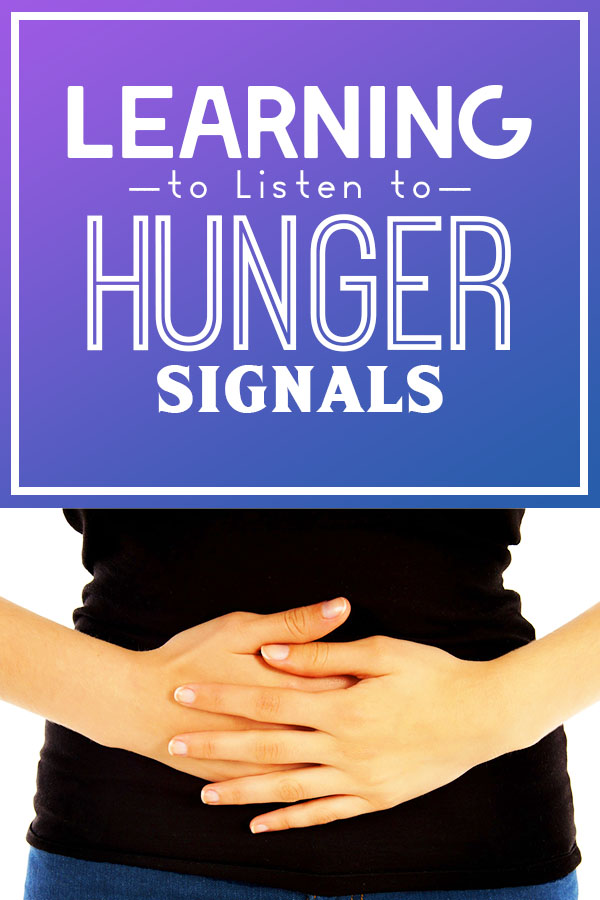 Learn how to listen to your hunger signals with intuitive eating