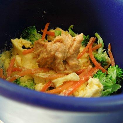 Egg Mug Breakfast recipe - easy high protein sneaky veggie breakfast