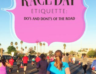 Race Day Etiquette – Tips for Newbies and A Refresher for Us All