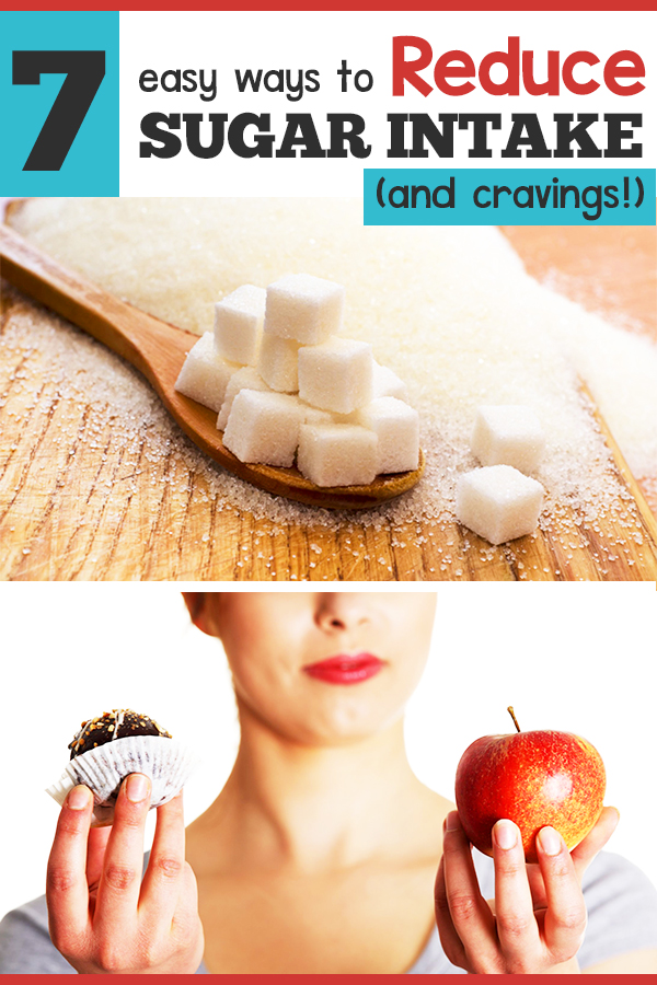 Easy ways to reduce your sugar cravings and intake without feeling deprived