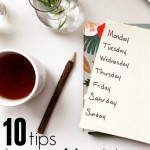 10 Tips for A Successful Healthy Weekly Meal Plan