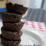 Healthy Brownie Bites – Dairy Free, Gluten Free, Low Sugar
