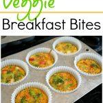 Veggie Breakfast Bites – High protein, Gluten Free, Dairy Free